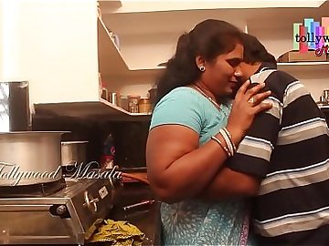 Hot desi masala aunty seduced by a teen boy